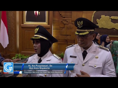 Live Streaming Pelantikan Walikota dan Wakil Walikota Mojokerto