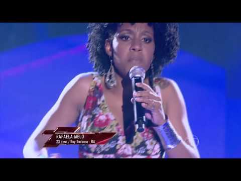 The Voice Brasil - Rafela Melo se apresneta na Audição