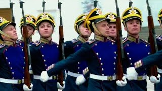 Элитное воинское подразделение России  Президентский полк  отмечает юбилей.