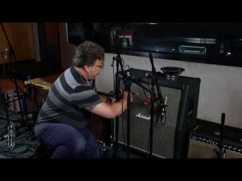 Recording Electric Guitar Session 4 - Microphone Placement with Ross Hogarth