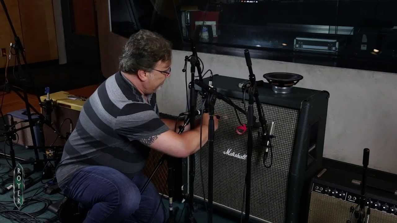 recording electric guitar session 4 microphone placement with ross hogarth youtube. Black Bedroom Furniture Sets. Home Design Ideas