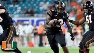 ACC Football Rewind: Deejay Dallas Runs Over The Tar Heels