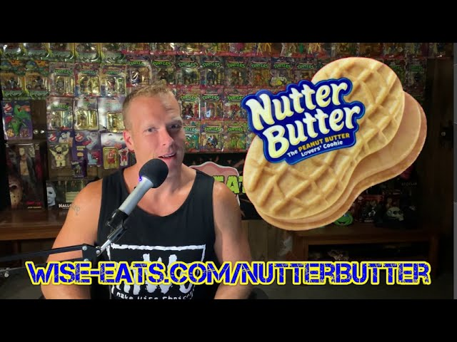 Wise Eats Nutter Butter – Healthy Protein Bar Recipe (Tastes Like Nutter Butter!)