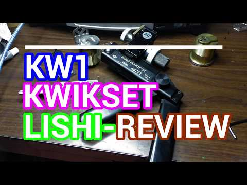 KW1 Kwikset LISHI DEMO & Review