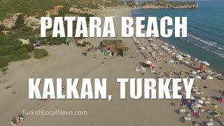 Patara Beach & Dunes, near Kalkan, Turkey