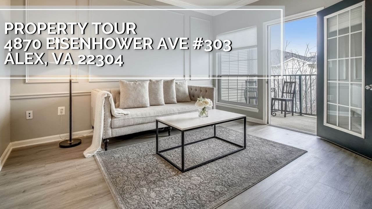 Video Tour: 4870 Eisenhower Ave # 303 Alexandria, VA