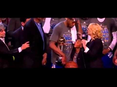 Andre Iguodala FINALS MVP AWARD AND INTERVIEW   Golden State Warriors NBA CHAMPIONS 2015