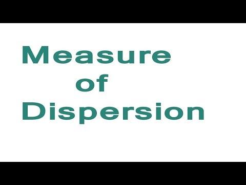 MEASURE OF DISPERSION PART 1