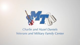 MTSU's Veterans and Military Family Center