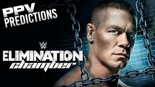 WWE Elimination Chamber Predictions (WWE 2K17) #WWEChamber