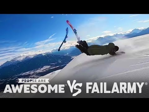 Best Wipeouts of the Year | People Are Awesome Vs. FailArmy