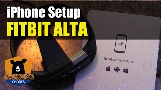 Fitbit Alta - How To Setup With iPhone or Smartphone