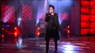 Скачать The Ellen DeGeneres Show Adam Lambert Strut January 26th 2010