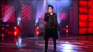 Скачать The Ellen DeGeneres Show Adam Lambert Strut January 26th 2010