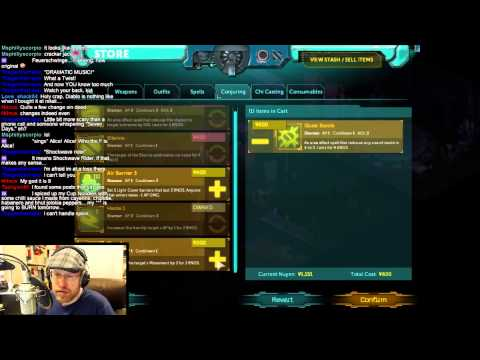Arv continues his cyber-magi-elf punk run as he streams Shadowrun Returns: Dragonfall (court - 3 / 3