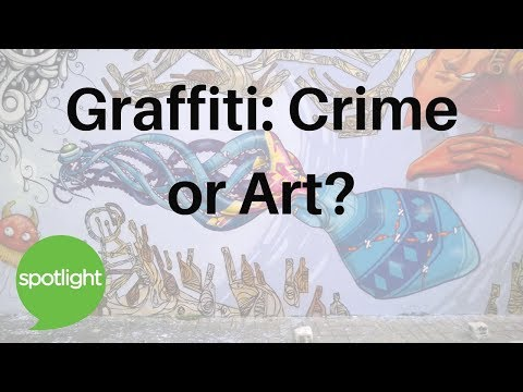 Graffiti: Crime or Art? | Listen & Read | Spotlight English