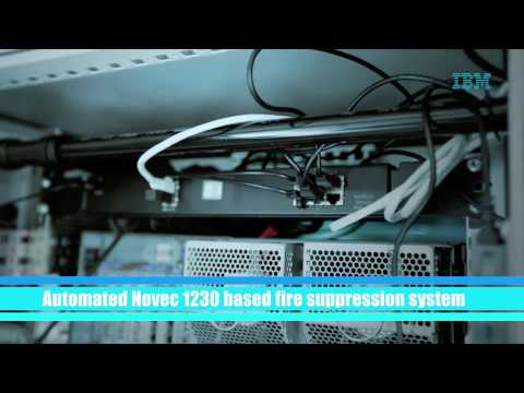 IBM Integrated Server Room (ISR) - a complete solution-in-a-box Datacenter infrastructure