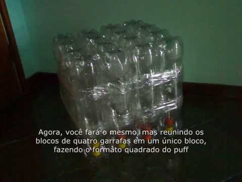 Puff de Botellas de Plasticos | Doovi - photo#13
