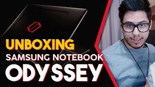 UNBOXING NOTEBOOK SAMSUNG ODYSSEY - Café Nerd