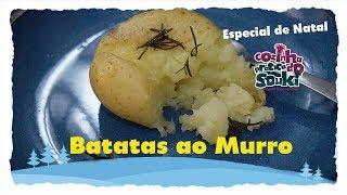 Especial Receitas de Natal -Batatas ao murro - Cozinha Prática