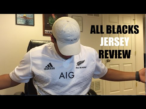 ALL BLACKS JERSEY REVIEW!