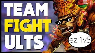 SMITE - Top 10 Most OP Teamfight Ultimates!
