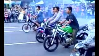 Drag Race Indonesia balapan liar sai mati