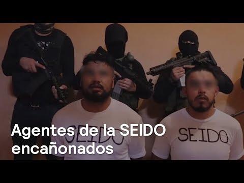 Comando armado exhibe a dos agentes de la SEIDO en video - En Punto con Denise Maerker