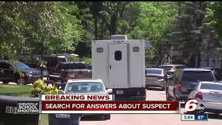Law enforcement searching for answers in Noblesville school shooting