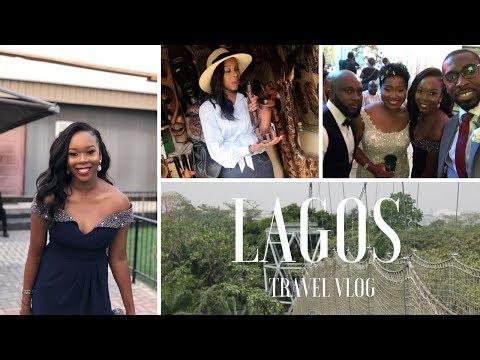 TRAVEL VLOG: LAGOS   Nigerian Wedding, Meeting Layefabeauty and more..