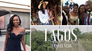 TRAVEL VLOG: LAGOS | Nigerian Wedding, Meeting Layefabeauty and more..