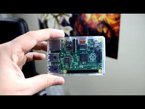 Raspberry Pi B+ First Boot!