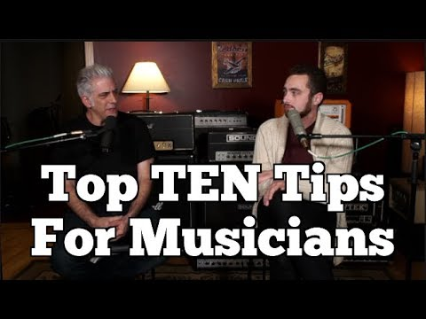 Top TEN Things I Wish I Knew BEFORE Becoming A Musician
