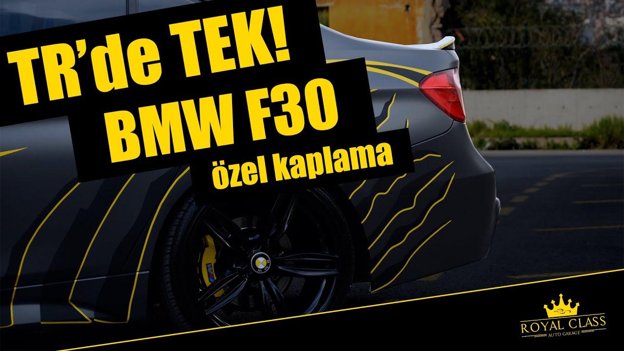 Bmw F30 Kaplama Kisiye Ozel Tasarim Custom Wrap Angry Claw