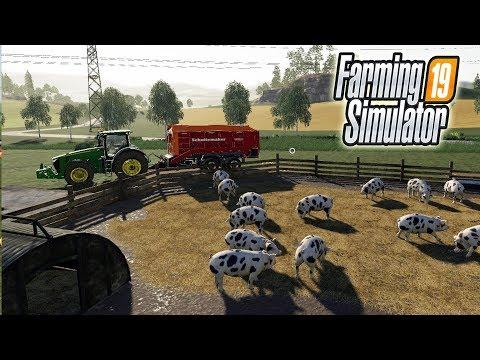ФЕРМА НА МИЛЛИОН - БОГАТЕЕМ НА ХРЮШКАХ! Farming Simulator 19