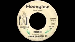 John English III & The Lemondrops -  Moanin