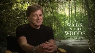 A WALK IN THE WOODS Interviews: Robert Redford and Nick Nolte