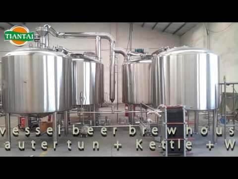 3000liter microbrewery system four vessels brewhouse
