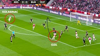10 Magical Passes Only Mesut Özil Can Do