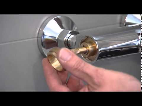 Exposed bath shower mixer   Inlet filter  maintenance and replacement
