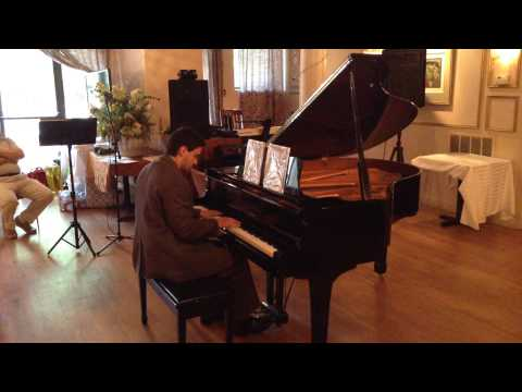 Brian Perel - Piano Concert at Saint Petersburg Cafe