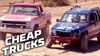 Cheap Truck Challenges! | Dirt Every Day | Motortrend