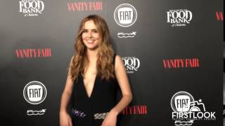 Zoey Deutch arrives at Vanity Fair and Fiat Celebrate Young Hollywood