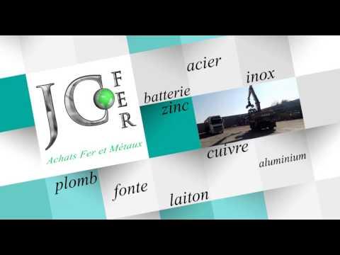 Spot publicité de la société JC Fer