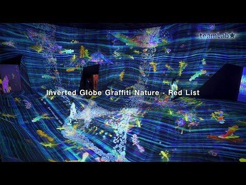 Inverted Globe Graffiti Nature - Red List