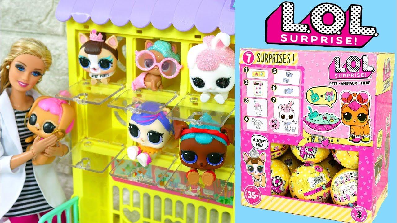 LOL SURPRISE PETS Series 3 Full Box - LOL Surpresa Animais de estimação LOL Überraschung Haustiere