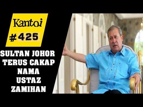 Sultan Johor - Ustaz Zamihan 'setelah dikecam ramai, dia menafikan katakan perkara tersebut'