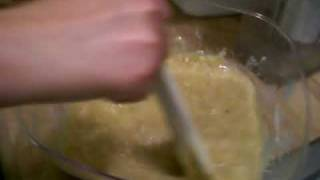 Banana Crunch Cake Part 4