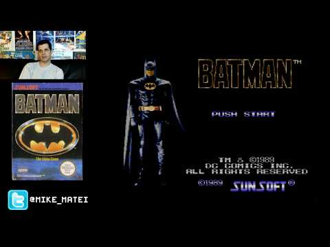 Batman NES full game live stream with Mike Matei