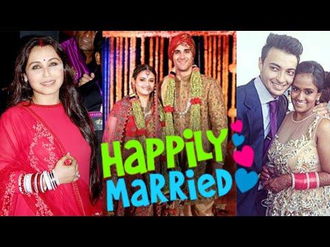 Arpita Khan, Rani Mukerji, Pulkit Samrat | Bollywood Weddings 2014